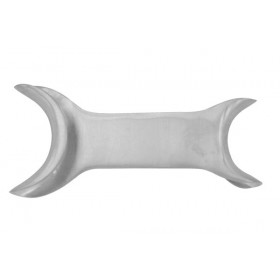 Lip  Retractor Double End Small And Large Flat Sheet