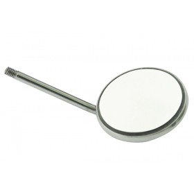 Mouth Mirror Simple Stem #4 12/Pk