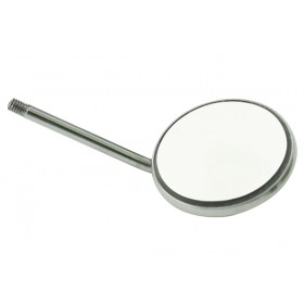 Mouth Mirror Simple Stem #5 12/Pk